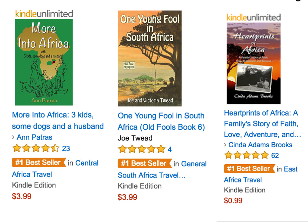 African Bestsellers